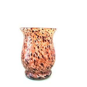 Glass vase / candle holder